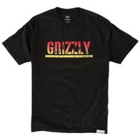 Grizzly Sunset Stamp T-Shirt - Men's at CCS