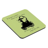 Enjoy the Ride Drink Coaster
