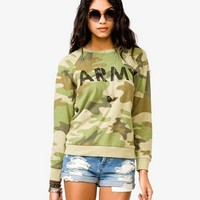 Camouflage Army Top
