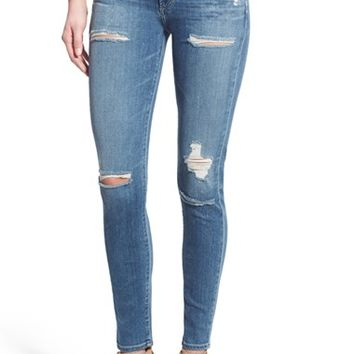 A Gold E 'Sophie' High Rise Skinny Jeans (Cannes)   Nordstrom