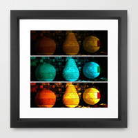 fruit medley trip Framed Art Print by Cindy White Photo Art
