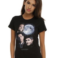 Supernatural Moon Portrait T-Shirt