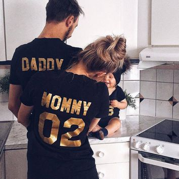 Matching Cotton T-shirts for the family