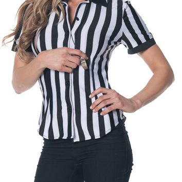 Referee Fitted Shirt Adult Lg