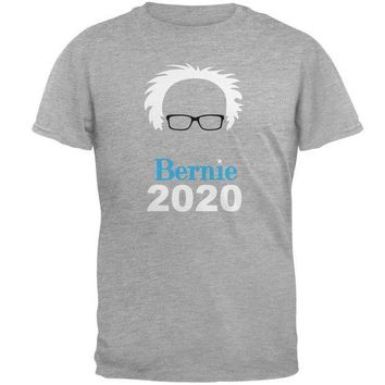 ESBGQ9 Election 2020 Bernie Sanders Hair Minimalist Mens T Shirt