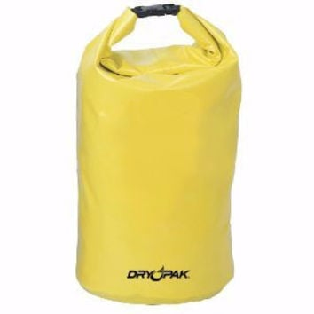 Dry Pak Roll Top Dry Bags Yellow