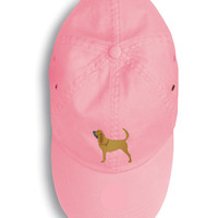 Bloodhound Embroidered Baseball Cap BB3384PK-156