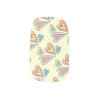 Sweet Ditsy Little Love Hearts Minx ® Nail Wraps