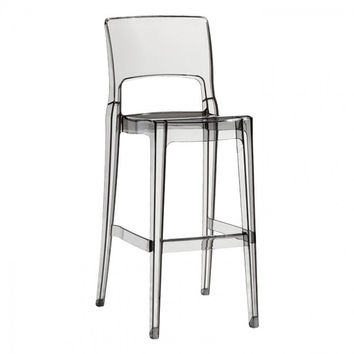 Igloo Bar Stool in Clear - Set of 2