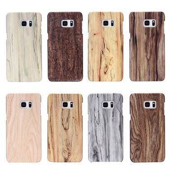 Wood Phone Cases For Samsung Galaxy Models