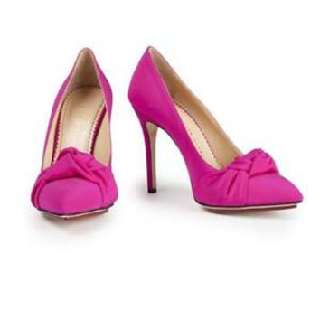 BN Charlotte Olympia Pink Ava Pump