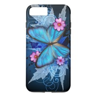 Blue Butterfly iPhone 8 Plus/7 Plus Case