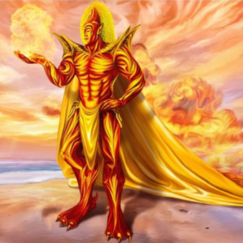 Dwain God of fire by exobiology (Nina Vels)