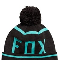 Fox Racing Formality Pom Beanie Hat For Men in Sea Foam 10855-490