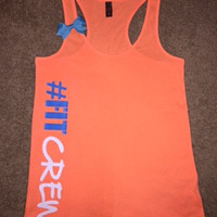 Fit Crew Tank - Ruffles with Love