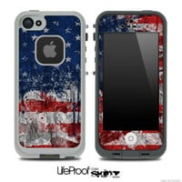 Vintage American Flag Skin for the iPhone 4/4s or 5 LifeProof Case