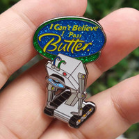 """V3  Limited Edition """"What is My Purpose?"""" aka """"The Butterbot"""" by Bielanski, Rick and Morty Fanart Hatpin, festival pins, heady pins, trippy"""