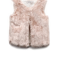 Luxe Faux Fur Vest (Kids)