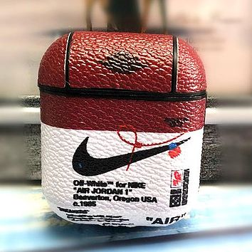 NIKE tide brand men and women personality wild hard shell airpods protective cover #4