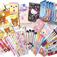 10 of Assorted School Supply Stationary Set (10 Items Will Be Randomly Selected From the Image Shown)