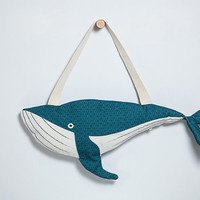 Whale - bag handmade fish