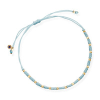Pale Blue Hope Skinny Bracelet, Astley Clarke. Shop more bracelets from the Astley Clarke collection online at Liberty.co.uk