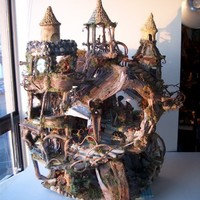 The Fairy Castle by Sunflowerhouse on Etsy