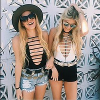 Women's Fashion Vest Spaghetti Strap Tops Bottoming Shirt [10389897293]