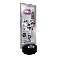 Montreal Canadiens Hockey Puck Ticket Display Stand (Cnd Team)