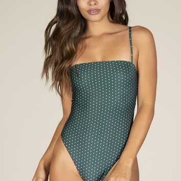 Stone Fox Swim - Shanti One Piece | Herbal Daisy Dot