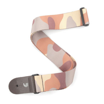 "Planet Waves P20W1403 2"" Woven Guitar Strap, Camo - Brown"