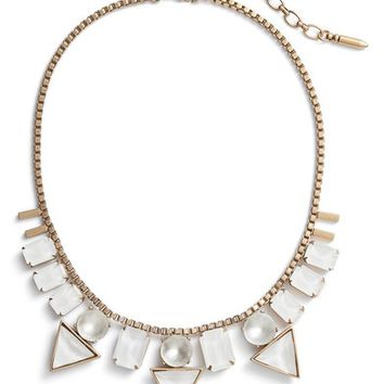 Loren Hope Skylar Box Chain Crystal Necklace | Nordstrom