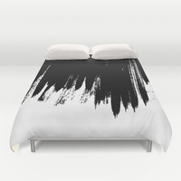 HIGH CONTRAST Duvet Cover by Matthew Taylor Wilson