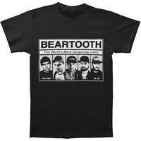 Beartooth Men's  Dangerous Dudes T-shirt Black