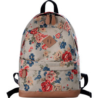 Casual Preppy Style Backpack