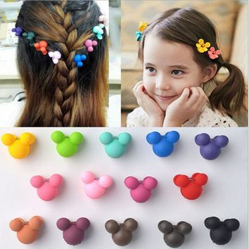 20 or 30 PCS/Set Korean Hair Claws Hair Accessories Little Girls Hairpin Small Flowers hair Clips Bangs Hair Claws for Children