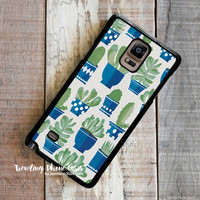 Cactus Pots  Samsung Galaxy Note 4 Case Cover for Note 3 Note 2 Case