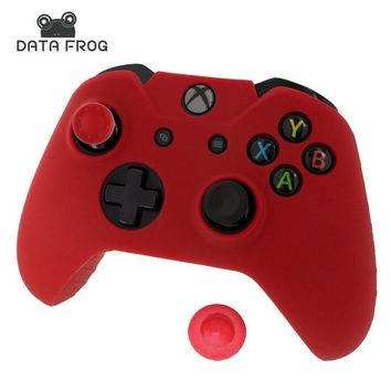 Silicone Gel Rubber Case Skin Grip Cover For Xbox One Controller Silicone Case for Xbox one Gamepad Soft Gel Silicone Cases