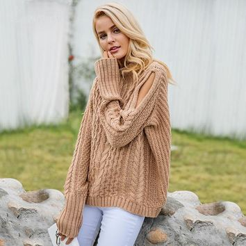 Maci Knitted Pullover Sweater