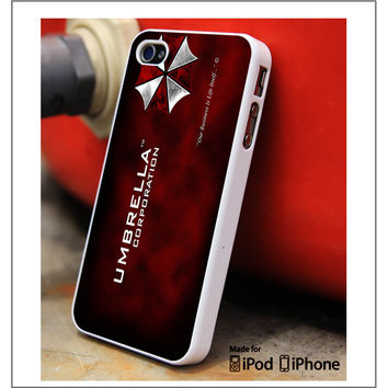UMBRELLA Corp Resident Evil iPhone 4s iPhone 5 iPhone 5s iPhone 6 case, Galaxy S3 Galaxy S4 Galaxy S5 Note 3 Note 4 case, iPod 4 5 Case