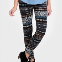 Life Of Travel Printed Leggings