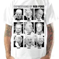 Rob Ford T-Shirts - Expressions Of Rob Ford