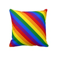 Gay Pride Throw Pillows from Zazzle.com
