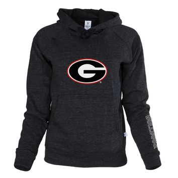 Official NCAA University of Georgia Bulldogs Glory, Glory UGA Women's Boyfriend-Fit Adult Hoodie Stylish Tri- Blend  Full Sleeve O-Neck Durable Premium Sweatshirt