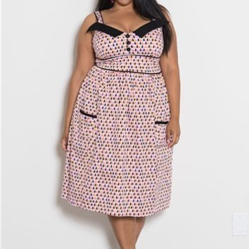 Plus Size Vintage | Peggy Sweetheart Dress | Swakdesigns.com