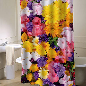 flower colorfull Shower Curtain