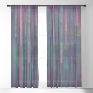 Sound Sheer Curtain by duckyb