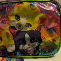 Lisa Frank Kitty Cat Soft Lunch Box Insulated Lunchbox