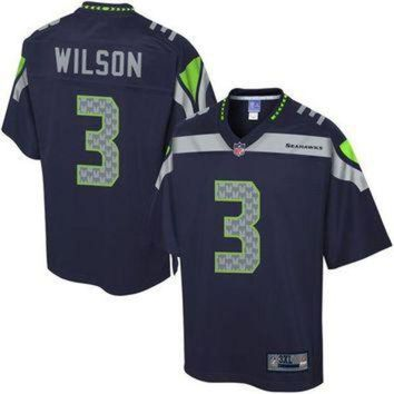 PEAPYD9 NFL Pro Line Men's Seattle Seahawks Russell Wilson Big & Tall Team Color Jersey