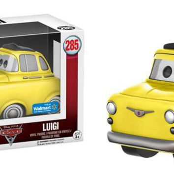 Luigi Disney Cars 3 Pop! FUNKO NIB Vinyl Figure Walmart Exclusive new in box 285